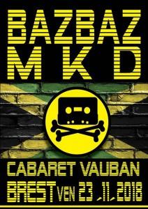 affiche bazbaz mkd vauban